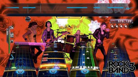 Дата выхода Rock Band 3