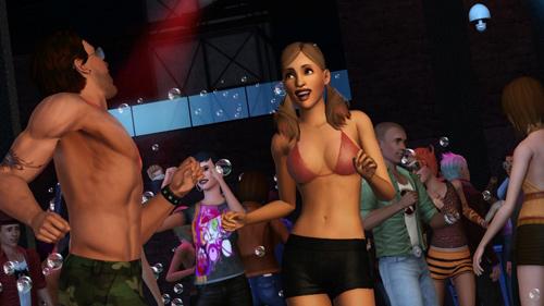 Анонс The Sims 3: Late Night