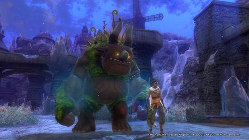 Скриншот к игре Majin and the Forsaken Kingdom