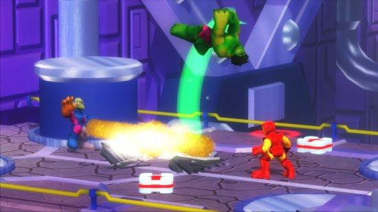 Анонс продолжения Marvel Super Hero Squad