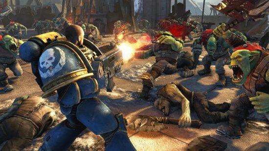 Warhammer 40K: Space Marine выйдет на ПК