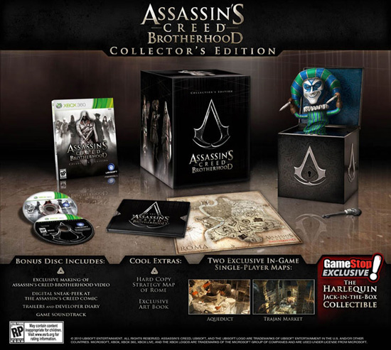Assassin's Creed: Brotherhood Limited Edition