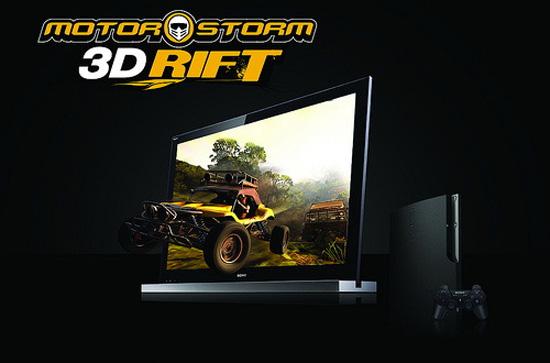 MotorStorm: 3D Rift в PSN