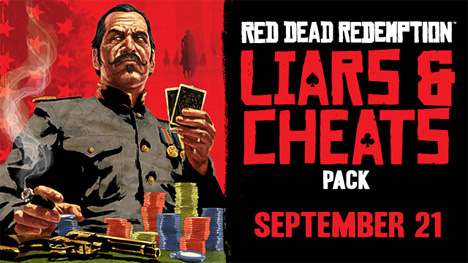 Дата релиза DLC Liars and Cheats для RDR
