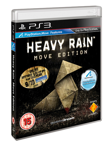 Подробности издания Heavy Rain: Move Edition
