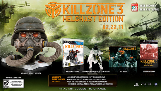 Helghast Edition для Killzone 3