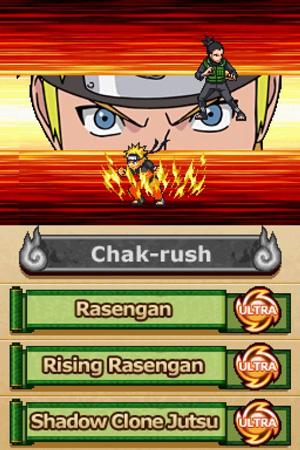 Naruto Shippuden: Ninjutsu Zenkai Chaclash в США