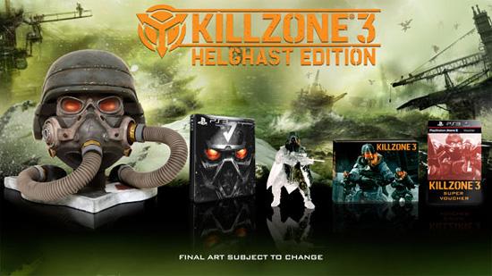 Детали коллекционок Killzone 3 для Европы
