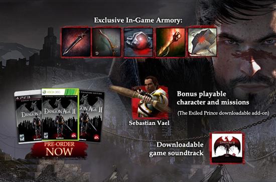 Персонаж в Dragon Age II Signature Edition