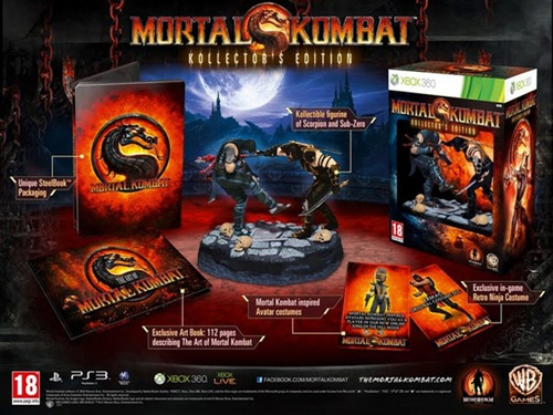 Европейская коллекционка Mortal Kombat 9