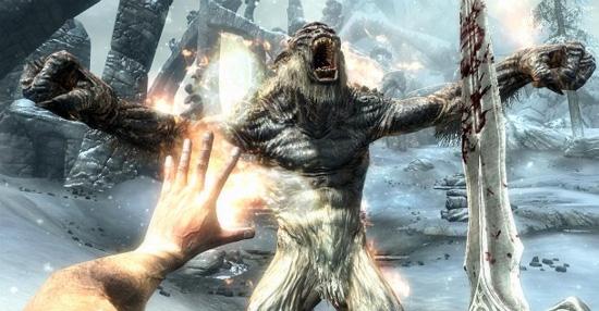 Боевая система The Elder Scrolls V: Skyrim