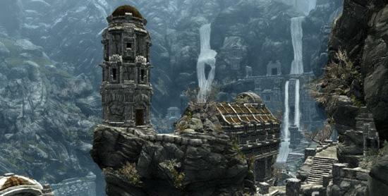 Детали движка The Elder Scrolls V: Skyrim