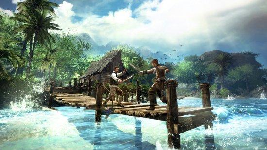 В Risen 2: Dark Waters нам придется посетить много островов.