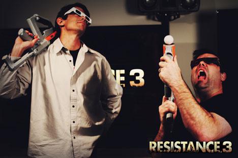 Resistance 3 будет поддерживать Move и 3D
