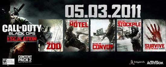 Escalation Map для Call of Duty: Black Ops