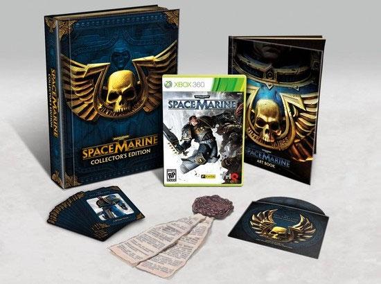 Коллекционное издание Warhammer 40000: Space Marine