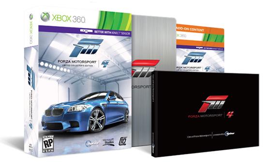 Коллекционное издание Forza Motorsport 4