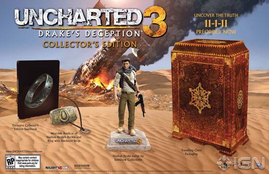 Коллекционное издание Uncharted 3: Drake's Deception