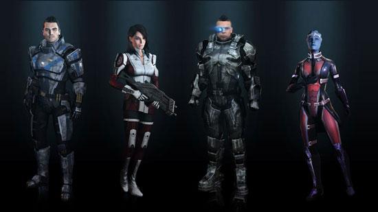 Гейм-арт к Mass Effect 3