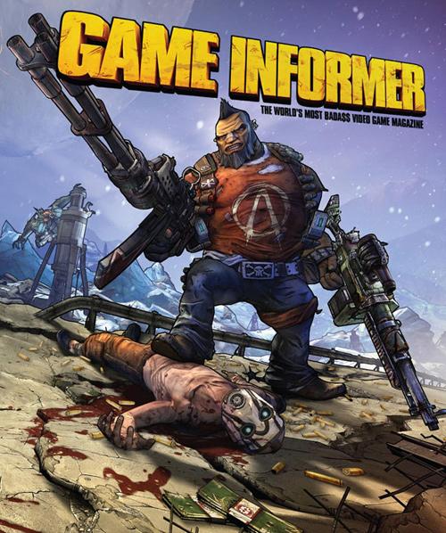 Borderlands 2 на обложке журнала Game Informer
