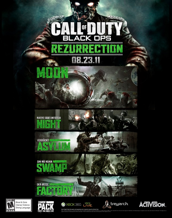 Rezurrection Pack для Call of Duty: Black Ops