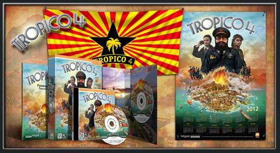 Подарочное изданиеTropico 4