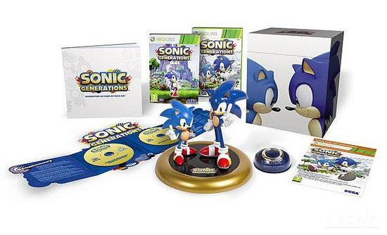 Коллекционное издание Sonic Generations для Европы