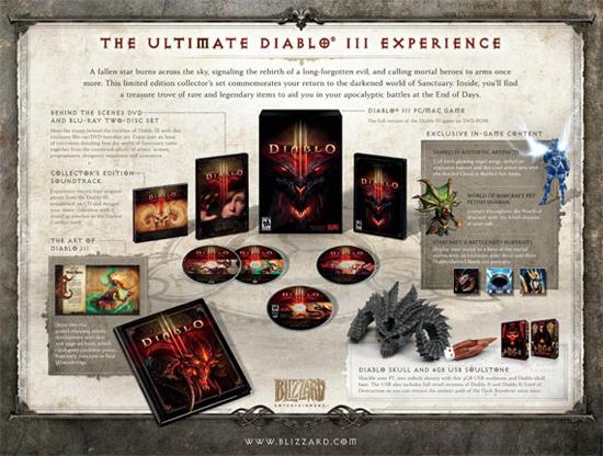Состав коллекционного издания Diablo III