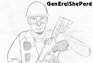 Работа пользователя GenEralShePard