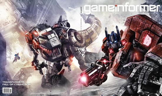 Обложка ноябрьского журнала Game Informer