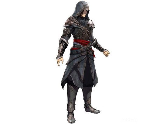 Ноэл в костюме Эцио из Assassin's Creed: Revelations