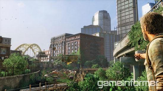 Внутриигровой скриншот The Last Of Us