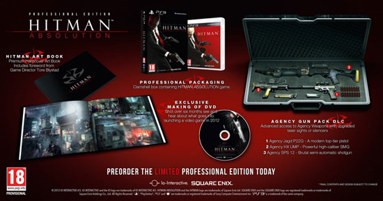 Hitman: Absoution Professional Edition