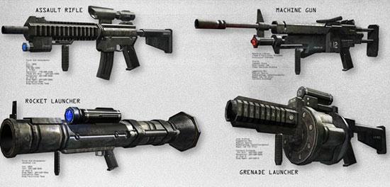 Оружие в Prototype 2