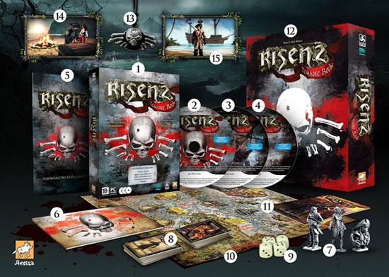 Коллекционное издание «Risen 2: Темные Воды»