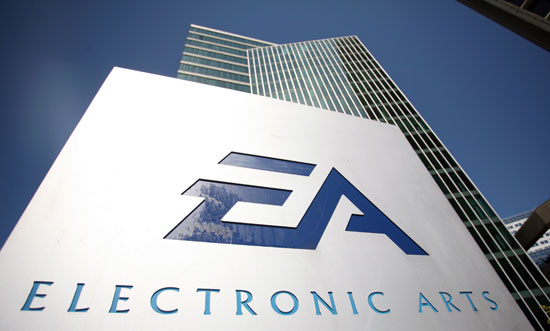 Информация с финансового отчета EA