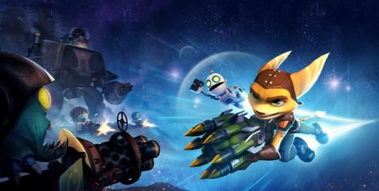Геймарт игры Ratchet & Clank: Full Frontal Assault