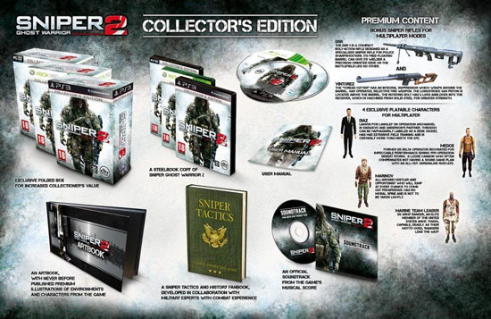 Sniper: Ghost Warrior 2 Collector Edition