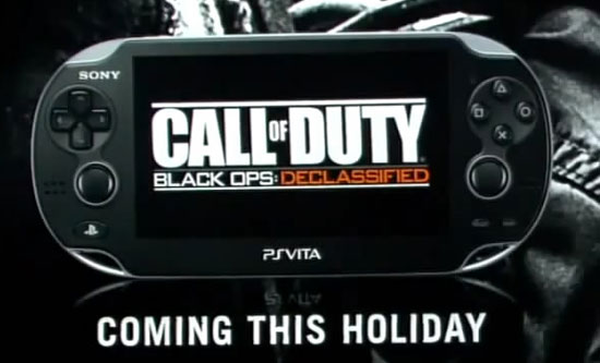 Анонс Call of Duty: Black Ops на PS Vita