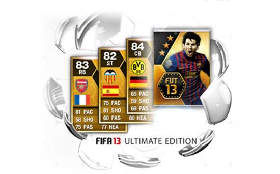 Анонс FIFA 13 Ultimate Edition и бонусы за предзаказ