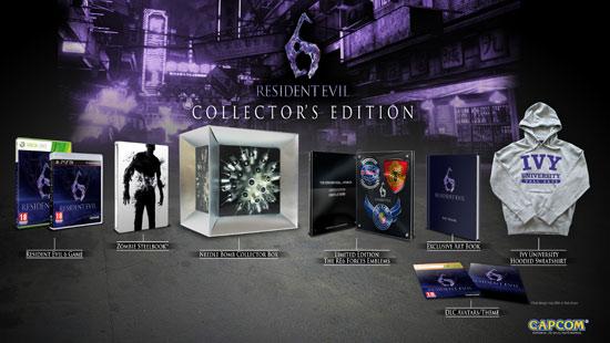 Коллекционное издание Resident Evil 6