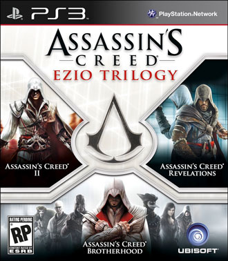 Обложка Assassin's Creed Ezio Trilogy