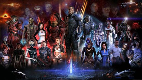 Mass Effect – три в одном