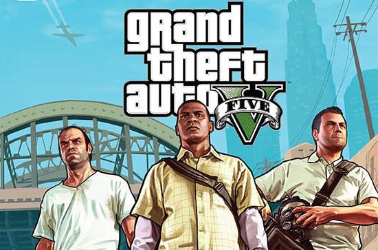 GTA V на обложке Game Informer'а
