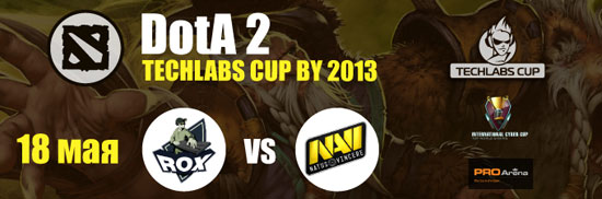 TECHLABS CUP BY 2013 DOTA2