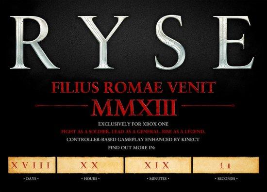 Ryse – эксклюзив для Xbox One