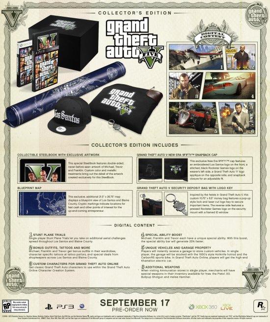 Grand Theft Auto V Collector's Edition