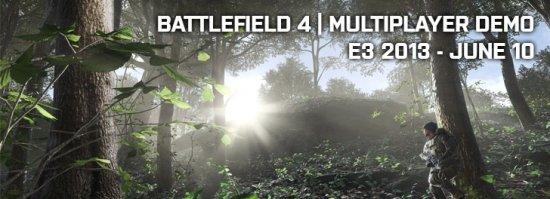 Мульт Battlefield 4 покажут на E3 2013