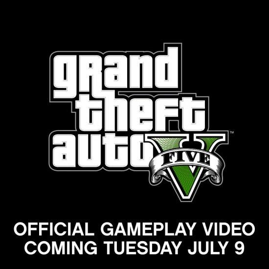 Геймплей GTA 5 покажут завтра