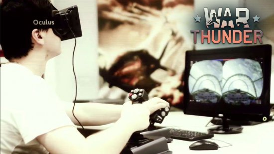 War Thunder теперь поддерживает Oculus Rift
